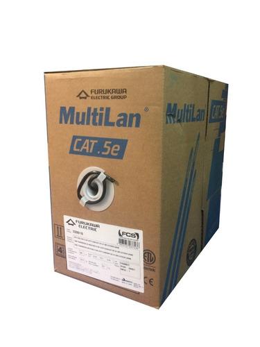 Cable Utp Exterior Categoria 5e Furukawa Multilan  305mts