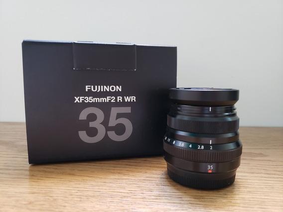 Lente Fujifilm Xf 35mm F/2r Wr