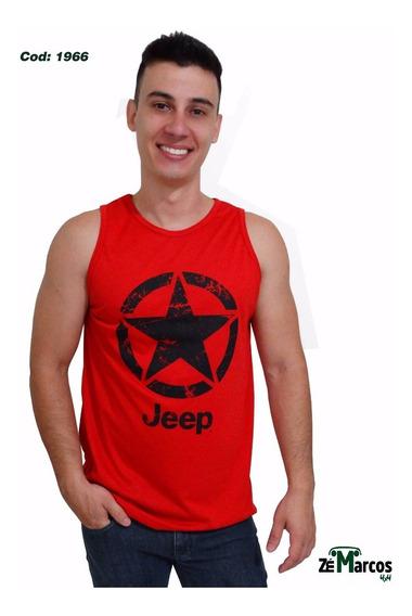 Camisa Masculina Regata Jeep!
