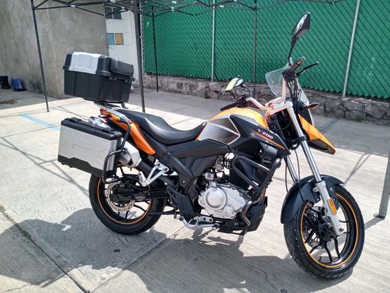 Motocicleta Doble Propósito Italika V200 Modelo 2019