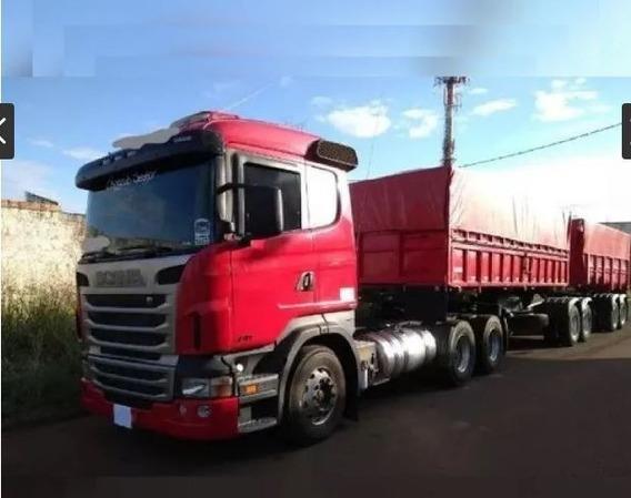 Scania R470 6x4 C/ Bi-caçamba Ano 2012 - Unico Dono