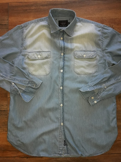 Camisa Jean Hombre Giesso Talle M