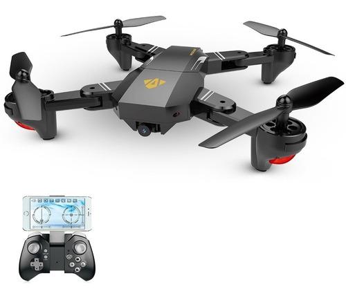 Drone Retractil Cazador Profesional Con Camara Wifi Hd 720p