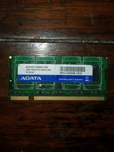 Ram Adata Ddr2 1gb Nootebook