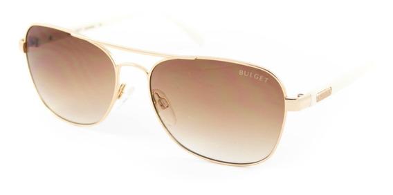 Óculos De Sol Bulget - Bg3166 04a - Dourado