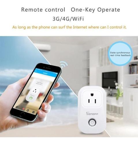 Smart Enchufe Sonoff S20 Casa Inteligente Wifi Socket Contro