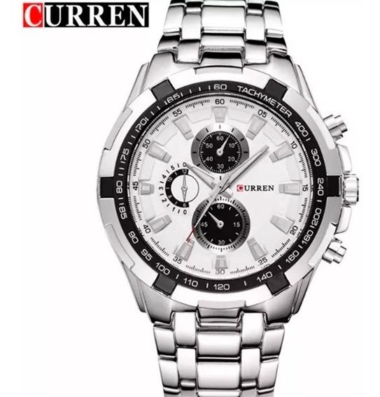 Relógio Curren 8023 Original Ótima Qualidade