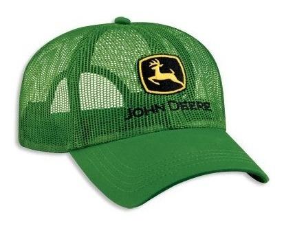 Cachucha John Deere 100% Original Gorra Toda Malla Lp41879