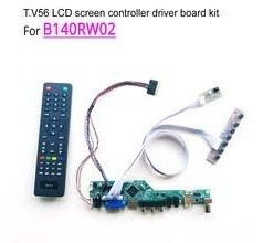 Kit Controlador De Pantalla Universal B140rw02