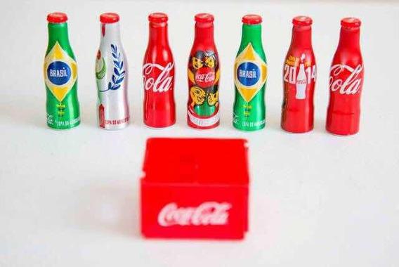 Mini Engradado + Garrafinhas Coca Cola Copa 2014