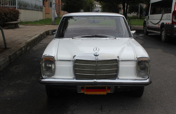 Mercedes Benz 1971, 220 S, Placa Par, W115