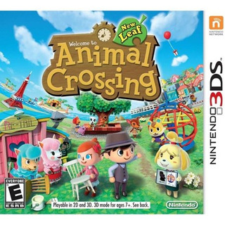 Animal Crossing: New Leaf (nintendo 3ds) - Seminuevo