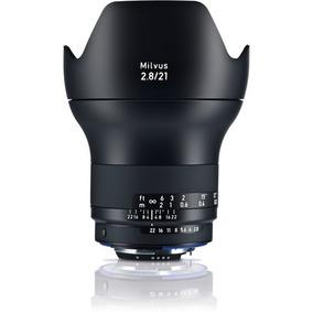 Zeiss Milvus 21mm F/2.8 Lente Para Canon Ef E Nikon F