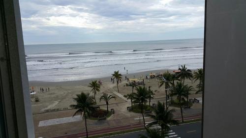 Imagem 1 de 14 de Apartamento Na Praia Grande-sp De Frente Ao Mar - Ocian