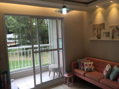 Apartamento Em Butantã, São Paulo/sp De 62m² 2 Quartos À Venda Por R$ 485.000,00 - Ap190117