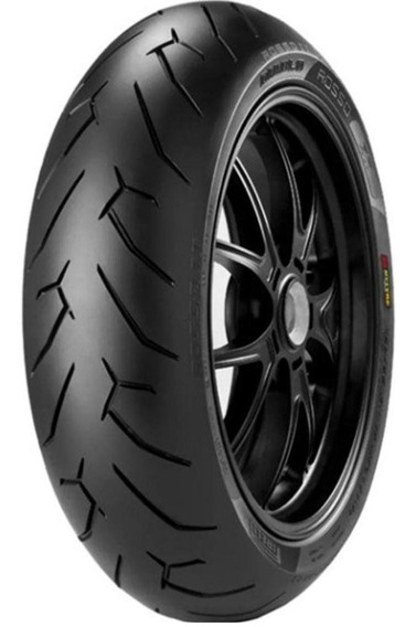 Pneu Cbx 250 Mais Largo 140/60r17 Diablo Rosso Ii Pirelli