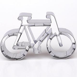 Bicicleta Cookie Cutter Acero Inoxidable