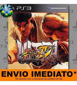 Jogo Ultra Street Fighter Iv 4 Ps3 Digital Psn Envio Rápido