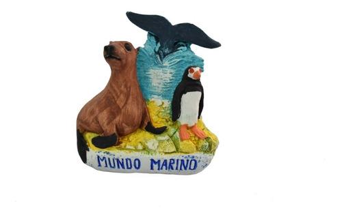 Imán Fauna De Cerámica Mundo Marino