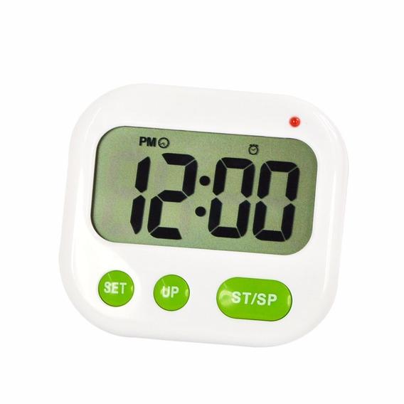 6 Timer Cozinha Digital Cronômetro Regressivo Com Relógio