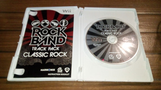 Rock Band Track Pack Classic Rock Wii