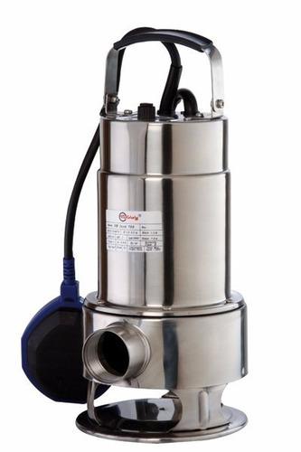 Imagen 1 de 6 de Bomba Sumergible Motorarg Sm Inox 1100 1.5hp Agua Sucia