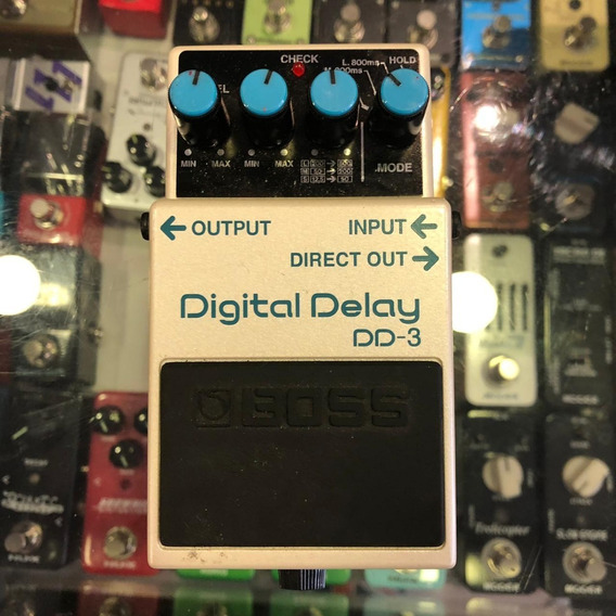 Pedal Boss Dd3 Digital Delay Ótimo Estado!
