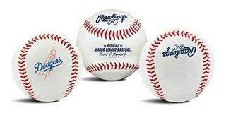 Pelota Beisbol Dodgers Original Rawlings Oficial Mlb