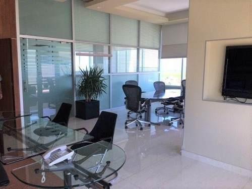 Renta Oficina En Centro Corporativo 150m2 Amueblada Sm 4