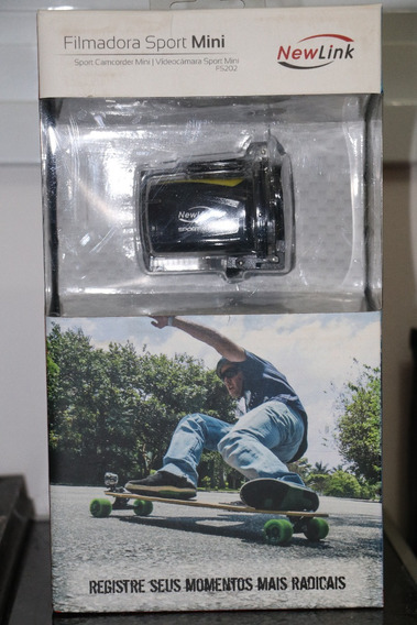 Filmadora Sport Mini Fs202 Nova Na Caixa