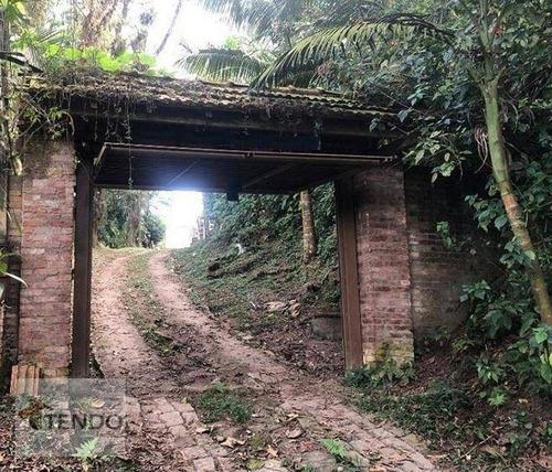Imagem 1 de 16 de Chácara Com 1 Dormitório À Venda, 5534 M² Por R$ 180.000,00 - Estância Rio Grande - Santo André/sp - Ch0076