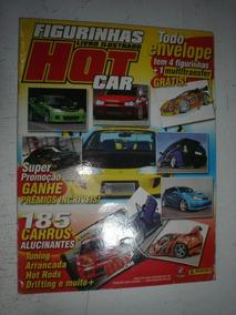Album Figurinhas Hot Car Completo 2005 Panini Tuning Drift