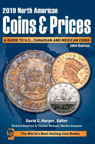 Imagen 1 de 5 de 21 Catalogos North American Coins And Prices 2021