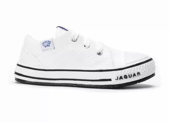 Zapatillas Jaguar Lona Puntera Inyectada Art. 128 19 Al 33