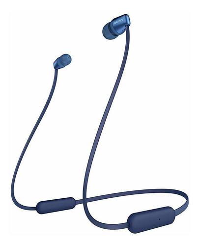 Auriculares Inalámbricos In-ear De Sony Wi-c310, Azules.