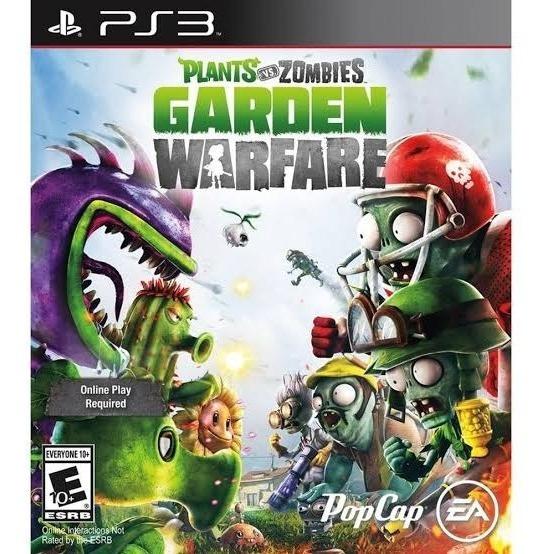 Plants Vs Zombies Garden Warfare Ps3 - Leia Descrição