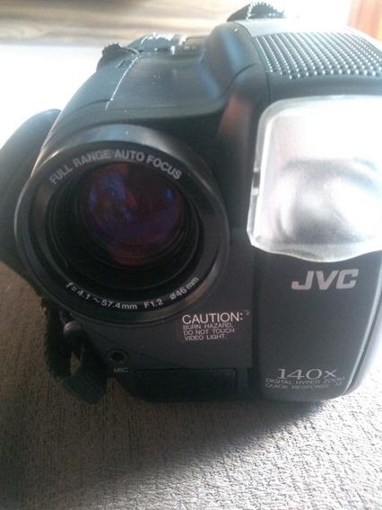 Câmera Filmadora Jvc Compact Vhs Intelegent Com Defeito