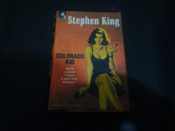Colorado Kid - Capa Dura - Stephen King - Em Italiano