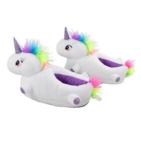 Nova Pantufa Unicornio Tamanho Unico