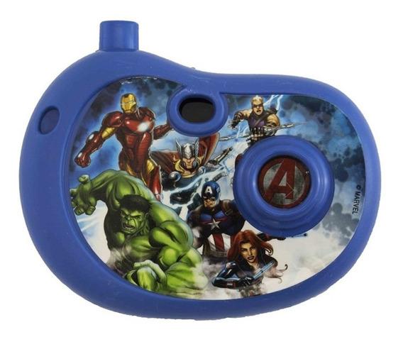 Câmera Fotográfica Avengers Marvel - Etitoys