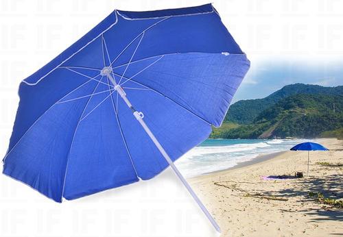 Guarda Sol Para Praia Piscina Com Proteção Uv
