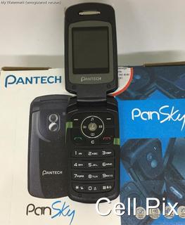 Celular Pantech Pg1300 - Só Funciona Tim Flip, Camera - Novo