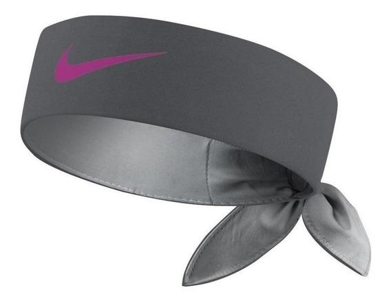 Bandana Para La Cabeza Nike Dry Tennis Reversible Gris