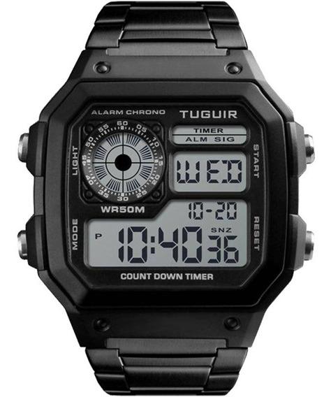 Relógio Masculino Tuguir Original Garantia Barato Com Nota