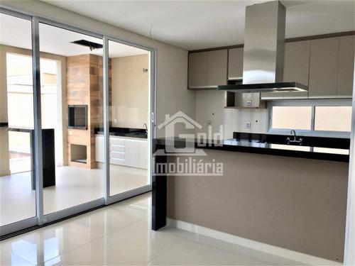 Casa Com 3 Dormitórios À Venda, 211 M² Por R$ 930.000 - Recreio Das Acácias - Ribeirão Preto/sp - Ca1218