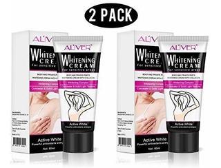 2 Cremas Blanqueantes Blanqueadores Naturales Y Desodorantes