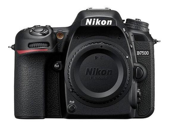 Câmera Nikon D7500 Somente Corpo (box Kit)
