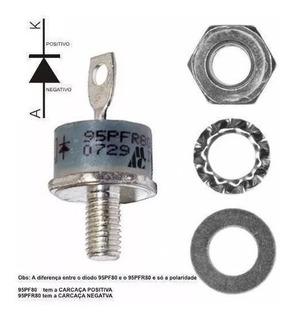 1 Peça Diodo Retificador * 95a - 800v * 95pfr80 Ou 95pf80