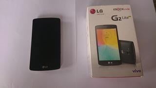 Celular Lg Lite G2 Usado Quebrado Branco