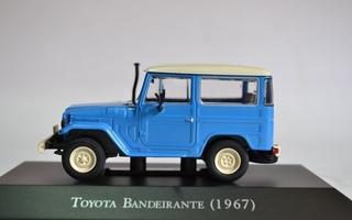 Miniatura Toyota Bandeirantes Carros Inesqueciveis Do Brasil